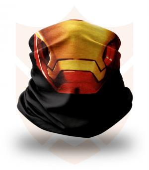 Nákrčník 🎞️ Iron Man | Avengers ❤️ Multifunkční šátek