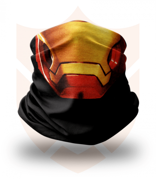 Nákrčník 🎞️ Iron Man   Avengers ❤️ Multifunkční šátek