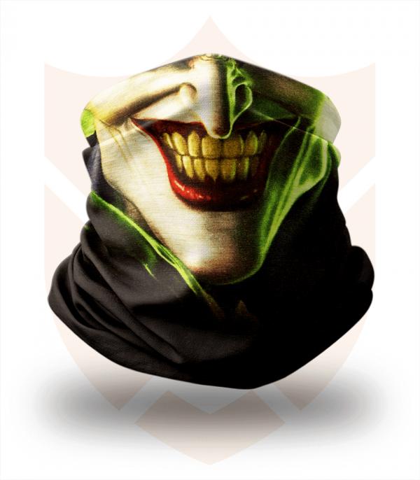 Nákrčník 🎞️ Joker | Batman ❤️ Multifunkční šátek