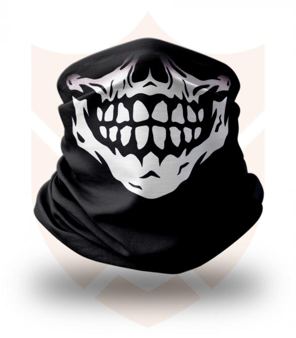 Nákrčník 💀 Lebka Skull ❤️ Multifunkční šátek