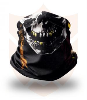 Nákrčník 🎞️ Lebka | Piráti z Karibiku ❤️ Multifunkční šátek