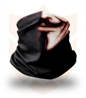 Nákrčník 🎞️ Anonymous | V jako Vendeta ❤️ Multifunkční šátek