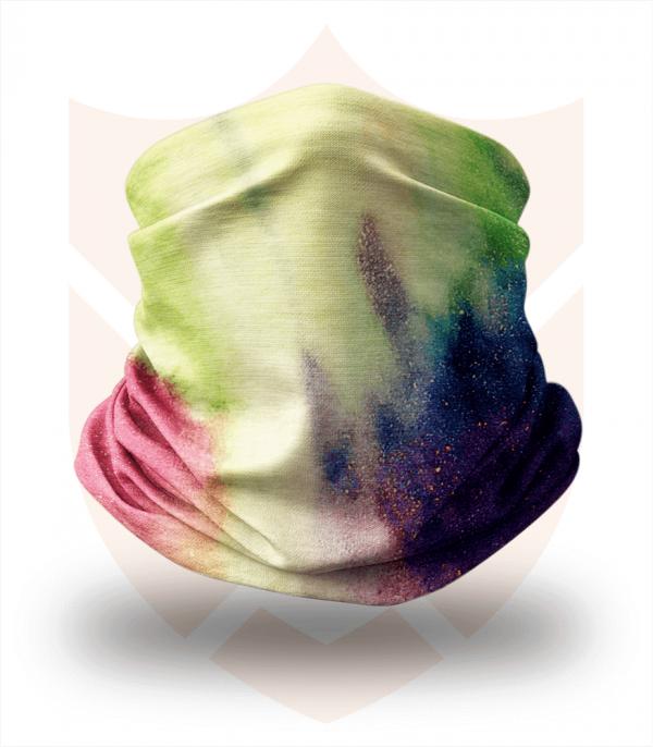 Nákrčník 🌄 Polární Záře ❤️ Multifunkční šátek
