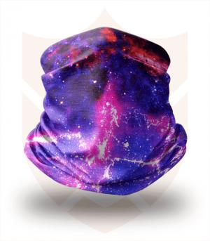 Nákrčník 🌌 Temný Vesmír ❤️ Multifunkční šátek