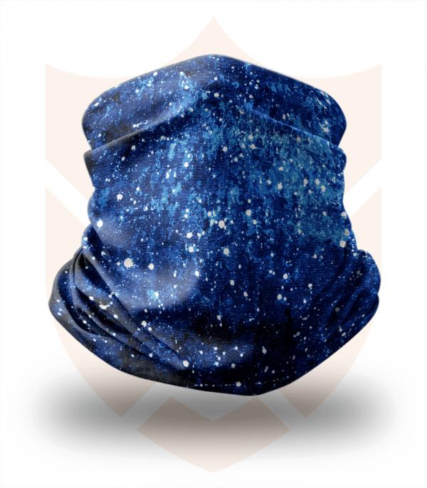 Nákrčník 🌌 Noční Nebe ❤️ Multifunkční šátek