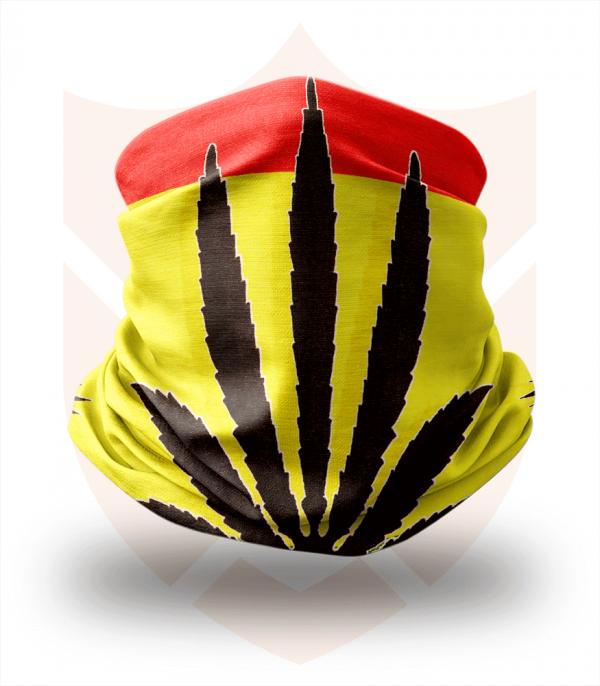 Nákrčník 🌱 Rasta | Ganja | Reggae ❤️ Multifunkční šátek