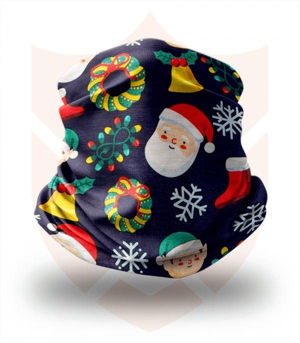 Nákrčník 🎅 Santa | Vánoce ❤️ Multifunkční šátek