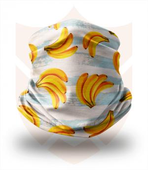 Nákrčník 🍌 Banány ❤️ Multifunkční šátek