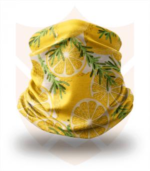 Nákrčník 🍋 Citróny ❤️ Multifunkční šátek