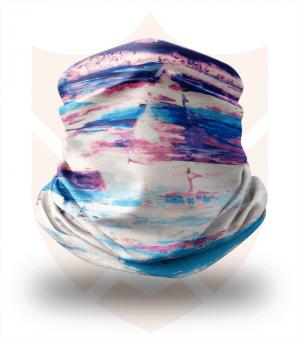 Nákrčník 🌊 Barevná Pláž ❤️ Multifunkční šátek