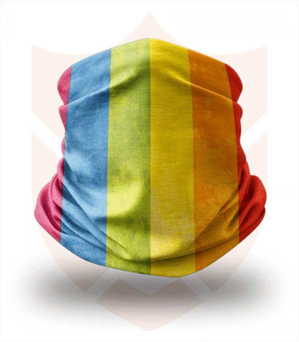 Nákrčník 🏳️🌈 LGBT Duha ❤️ Multifunkční šátek