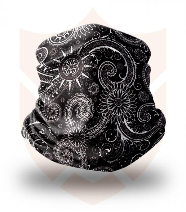 Nákrčník 🛡️ White Flower ❤️ Multifunkční šátek
