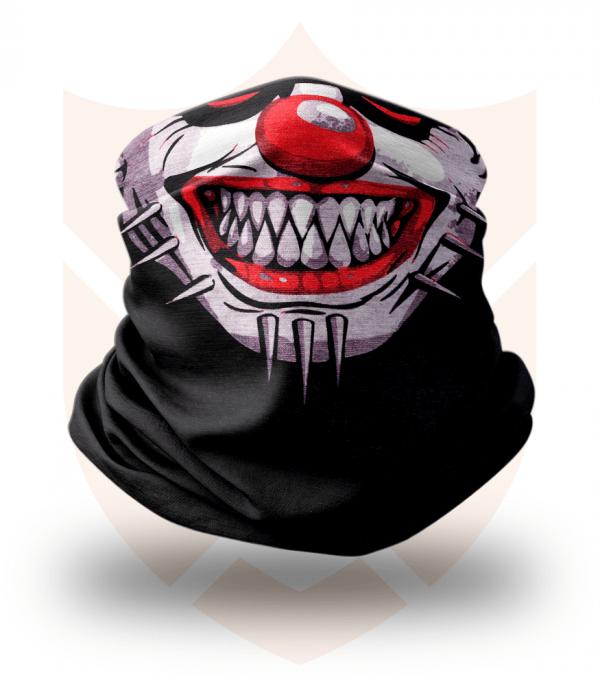 Nákrčník 🤡 Klaun s Ostny ❤️ Multifunkční šátek