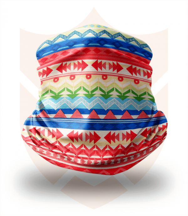 Nákrčník 🛡️ Barevné Vzory ❤️ Multifunkční šátek