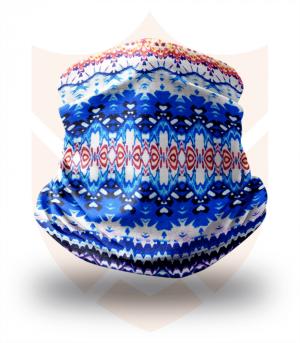 Nákrčník 🛡️ Barevná Mozaika ❤️ Multifunkční šátek
