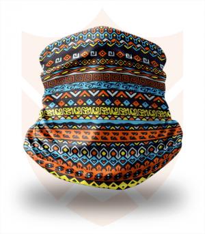 Nákrčník 🛡️ Mozaika ❤️ Multifunkční šátek