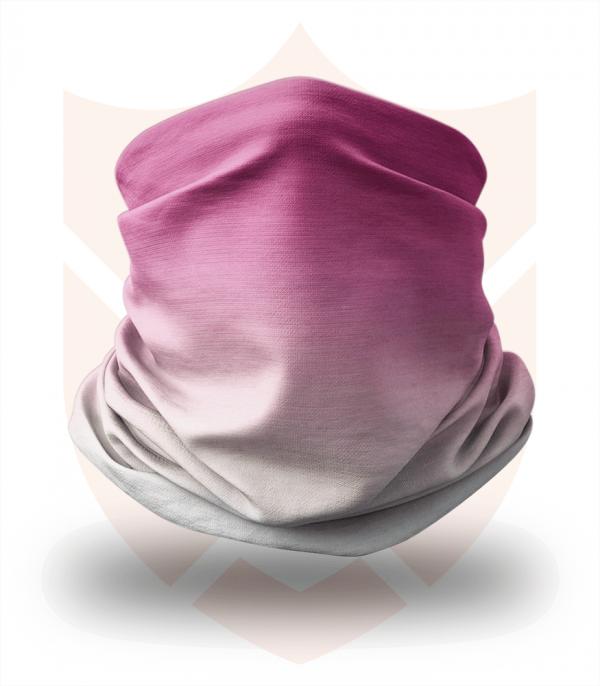 Nákrčník 🛡️ Fialová Modrá Duha ❤️ Multifunkční šátek