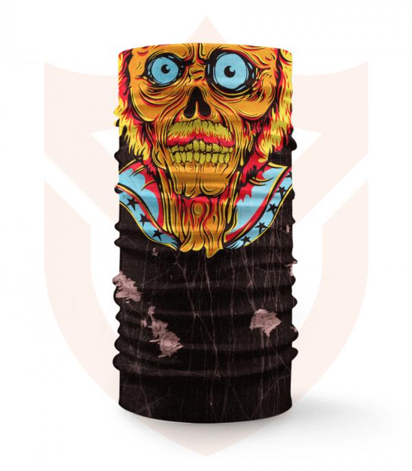 Nákrčník 🧟 Zombie ❤️ Multifunkční šátek