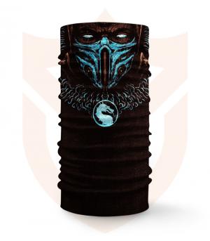 Nákrčník 🎞️ Sub Zero | Mortal Kombat ❤️ Multifunkční šátek