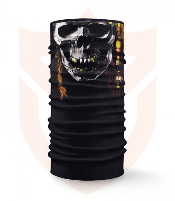 Nákrčník 🎞️ Lebka   Piráti z Karibiku ❤️ Multifunkční šátek