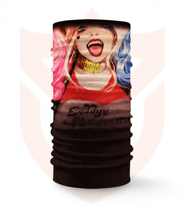 Nákrčník 🎞️ Harley Quinn | Suicide Squad ❤️ Multifunkční šátek