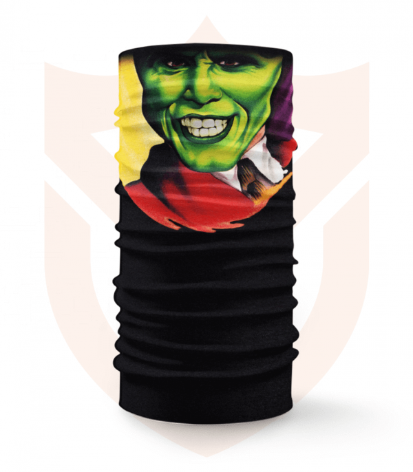 Nákrčník 🎞️ Maska | Jim Carrey ❤️ Multifunkční šátek