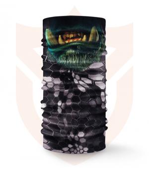 Nákrčník 🎞️ Ork Thrall | Warcraft ❤️ Multifunkční šátek