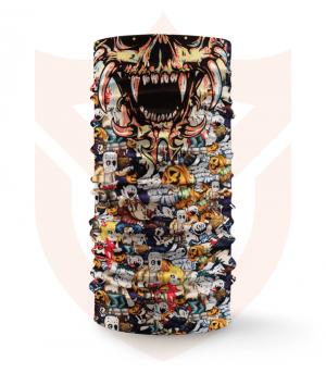 Nákrčník 🎞️ Halloween | Horor Family ❤️ Multifunkční šátek
