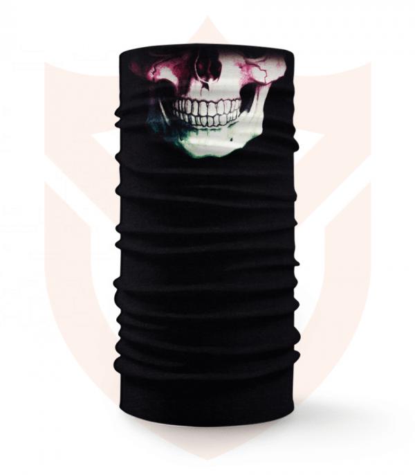Nákrčník 💀 Lebka Barevná ❤️ Multifunkční šátek
