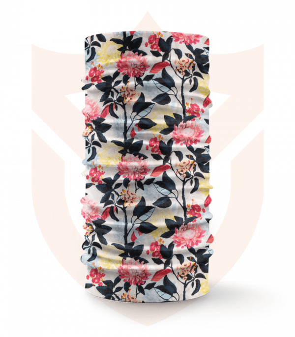 Nákrčník 🌺 Jarní Květy ❤️ Multifunkční šátek