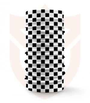 Nákrčník ♟️ Šachovnice ❤️ Multifunkční šátek