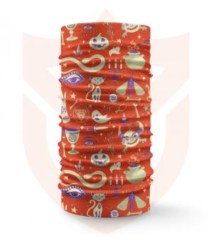Nákrčník 🎃 Halloween ❤️ Multifunkční šátek