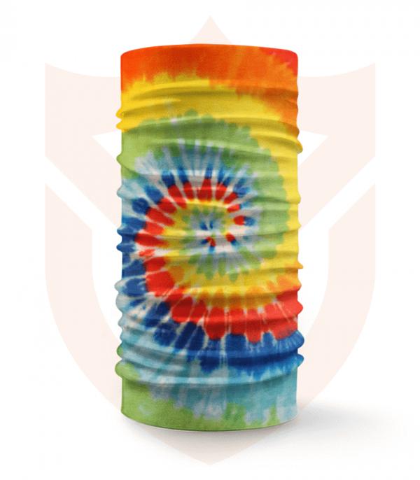 Nákrčník 🛡️ Barevná Batika ❤️ Multifunkční šátek