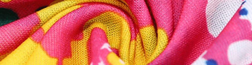 Vzor textilu a kvalita nákrčníku xface